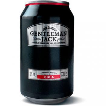 DPG Gentleman Jack & Cola 10% vol. 24er Einheit